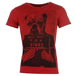 Купить Firetrap Arrested T Shirt Mens 1550.00 за рублей