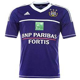 Купить adidas Anderlecht Away Shirt 2012 2013 Mens 3100.00 за рублей