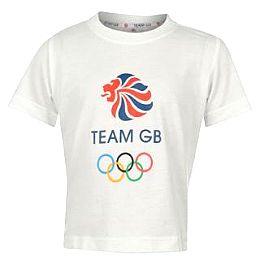Купить 2012 OB Team GB TShirt Infants 600.00 за рублей