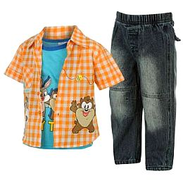 Купить Looney Tunes Bugs 3 Piece Shirt Set Baby Boy 1950.00 за рублей