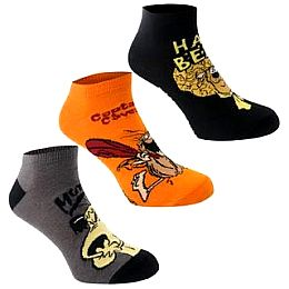 Купить Hanna Barbera 3 Pack Trainer Socks Mens 650.00 за рублей