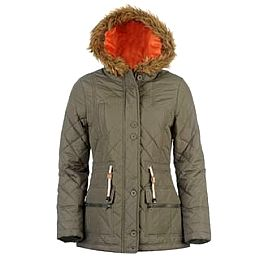 Купить Lee Cooper Quilted Parka Jacket Ladies 2300.00 за рублей