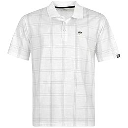 Купить Dunlop Check Golf Polo Shirt Mens 1600.00 за рублей