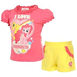 Купить My Little Pony Short and T Shirt Set Baby Girls 1650.00 за рублей