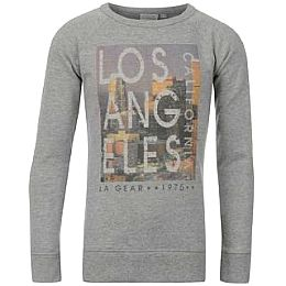 Купить LA Gear Crew Sweatshirt Girls 1750.00 за рублей