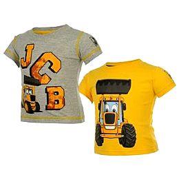 Купить JCB Joey 2 Pack Tees Baby Boys 800.00 за рублей
