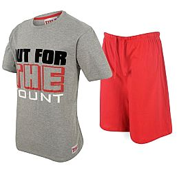 Купить Title T Shirt and Shorts Pyjama Set Mens 1600.00 за рублей