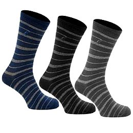 Купить Kangol 3 Pack Stripe Socks Mens 750.00 за рублей