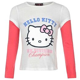 Купить Hello Kitty Pack of 2 Long Sleeved T Shirts Girls 1600.00 за рублей