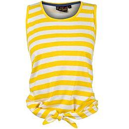 Купить Miss Fiori Tie Front Striped Top Ladies 700.00 за рублей