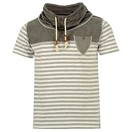 Купить Lee Cooper Stripe Cowl T Shirt Mens 1750.00 за рублей