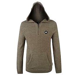 Купить Airwalk Quarter Zip Hooded Knit Top Mens 1700.00 за рублей