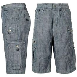 Купить Firetrap Denim Cargo Shorts Mens 2150.00 за рублей