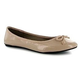 Купить Golddigga Patent Ladies Ballet Pumps 1700.00 за рублей