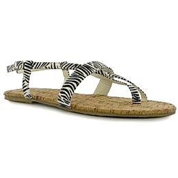 Купить Golddigga Print Ladies Sandals 1800.00 за рублей