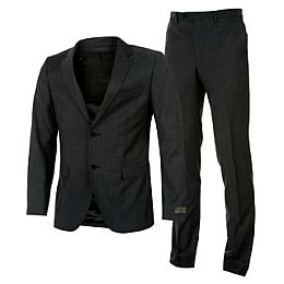 Купить Calvin Klein Klein Structured Wool Suit Mens 8050.00 за рублей