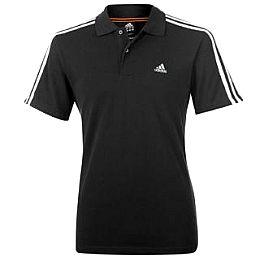 Купить adidas Essentials 3 Stripe Polo Shirt Mens 2250.00 за рублей