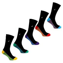 Купить Kangol Multi Stripe Mens Socks 5 Pack 1700.00 за рублей