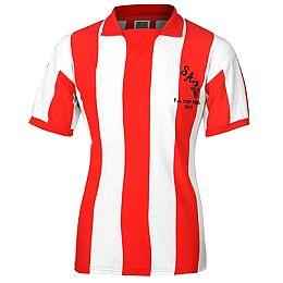 Купить ScoreDraw Retro Sunderland AFC 1973 Home Shirt 2250.00 за рублей