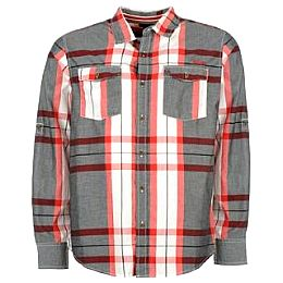 Купить Lee Cooper Long Sleeved Check Shirt Mens 1700.00 за рублей