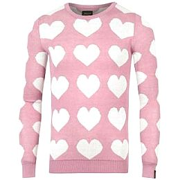 Купить Golddigga Heart Knit Jumper Girls 1650.00 за рублей