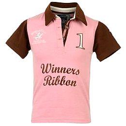 Купить BHPC Short Sleeved Rugby Polo Top Girls 1650.00 за рублей