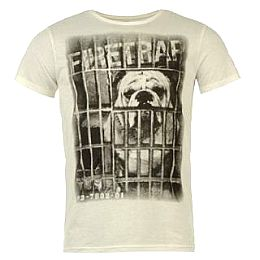 Купить Firetrap Behind Bars T Shirt Mens 1700.00 за рублей