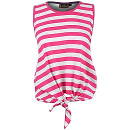 Купить Miss Fiori Tie Front Striped Top Ladies 650.00 за рублей