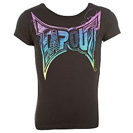 Купить Tapout Short Sleeve T Shirt Girls 800.00 за рублей