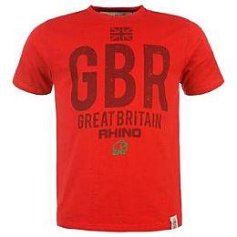 Купить Rhino Rugby GBR T Shirt Mens 1800.00 за рублей