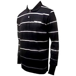 Купить NUFC Multi Stripe Long Sleeve Polo Shirt Mens 2150.00 за рублей