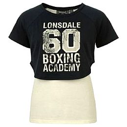 Купить Lonsdale Boxing Mock Layer T Shirt Ladies 1650.00 за рублей