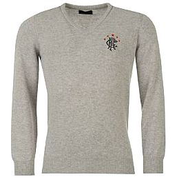Купить Rangers Knitwear Rangers Wool V Neck Sweater Mens 2800.00 за рублей