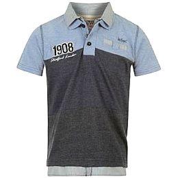 Купить Lee Cooper Fashion Double Collar Polo Shirt Junior 1700.00 за рублей