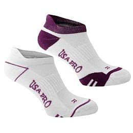 Купить USA Pro Pro 2 Pack Ankle Socks Ladies 750.00 за рублей