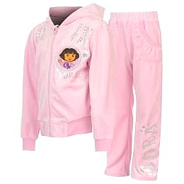 Купить Dora the Explorer the Explorer Velour Tracksuit Infants Girls 1700.00 за рублей
