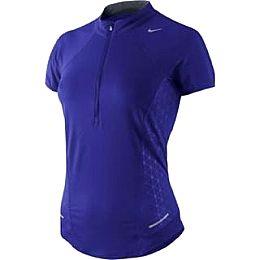 Купить Nike Womens Sphere S S  half  Zip Top 2200.00 за рублей