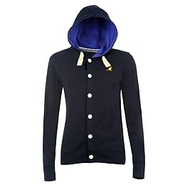 Купить Kangol Ribbed Button Through Hoodie Ladies 1800.00 за рублей