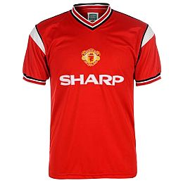 Купить Score Draw Retro Manchester United 1985 FA Cup Final Shirt 2300.00 за рублей