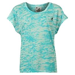 Купить Kangol Open Sleeve Burn Out T Shirt Ladies 1800.00 за рублей