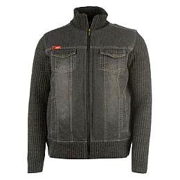 Купить Lee Cooper Knit Denim Jacket Mens 1800.00 за рублей
