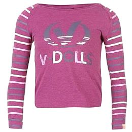 Купить Voodoo Dolls Long Sleeve Marl T Shirt Girls 800.00 за рублей